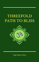 Threefold Path to Bliss Book Cover